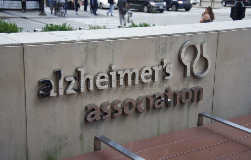 A associação de Alzheimer foto de stock