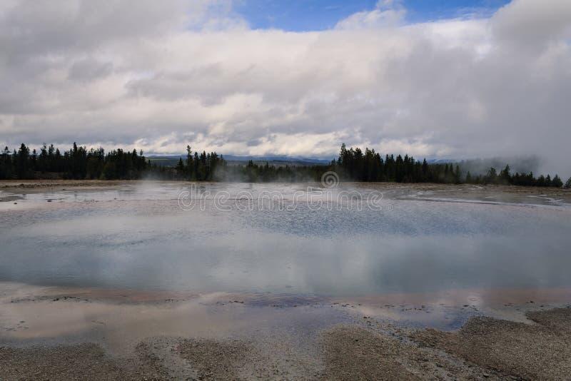 Associação do Opal, Yellowstone foto de stock royalty free
