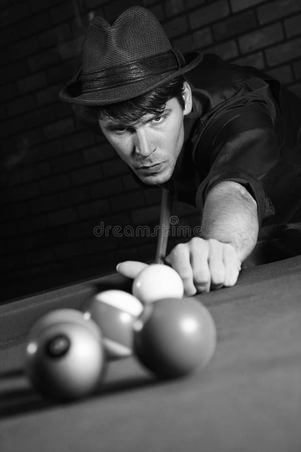 Associação masculina retro do tiro. imagens de stock royalty free