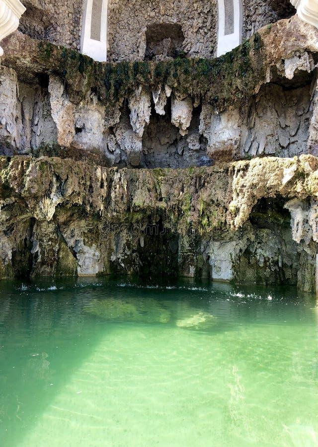 Associação natural com água esmeralda fotografia de stock