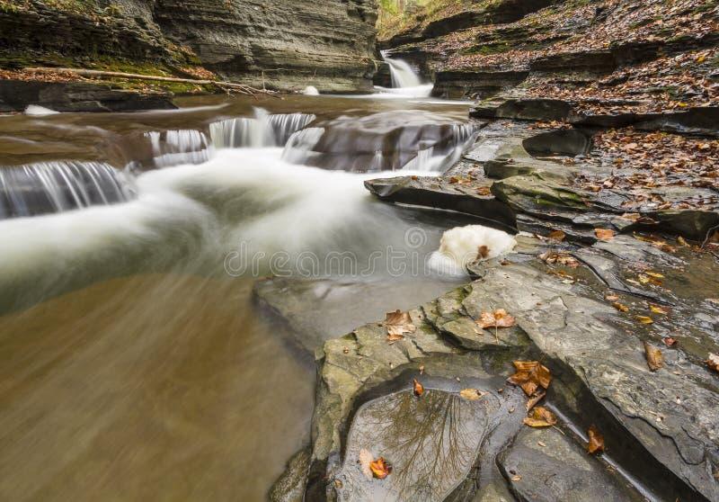 Associações cinzeladas água e reflexões fotografia de stock royalty free