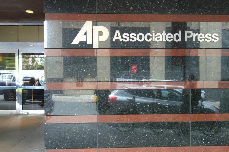 Associated Press-Hoofdkwartier stock foto's