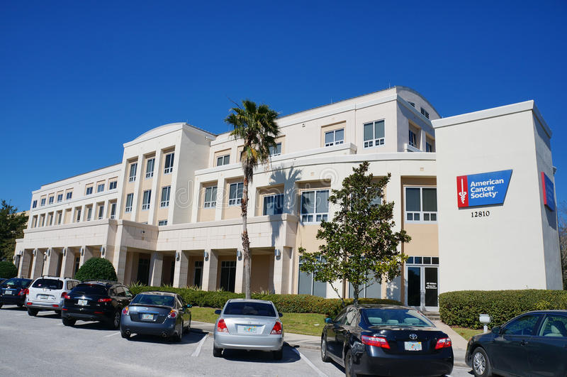 Association du cancer américaine Benjamin Mendick Hope Lodge à Tampa photo stock