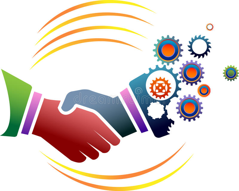 Association industrielle illustration libre de droits