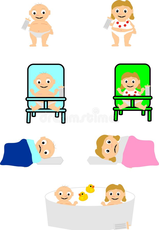 Download Assorted Baby Belly Buddies Royalty Free Stock Images - Image: 7430039