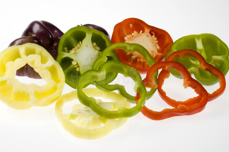 Download Assorted Bell Pepper Slices Stock Image - Image: 10582301