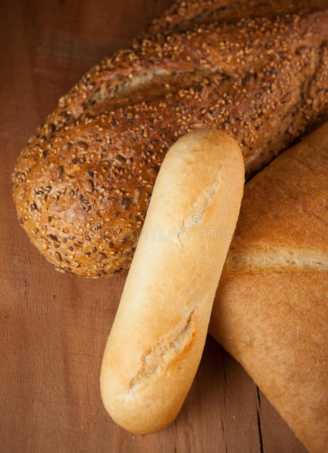 Download Assorted Bread stock photo. Image of warm, crust, table - 28136764