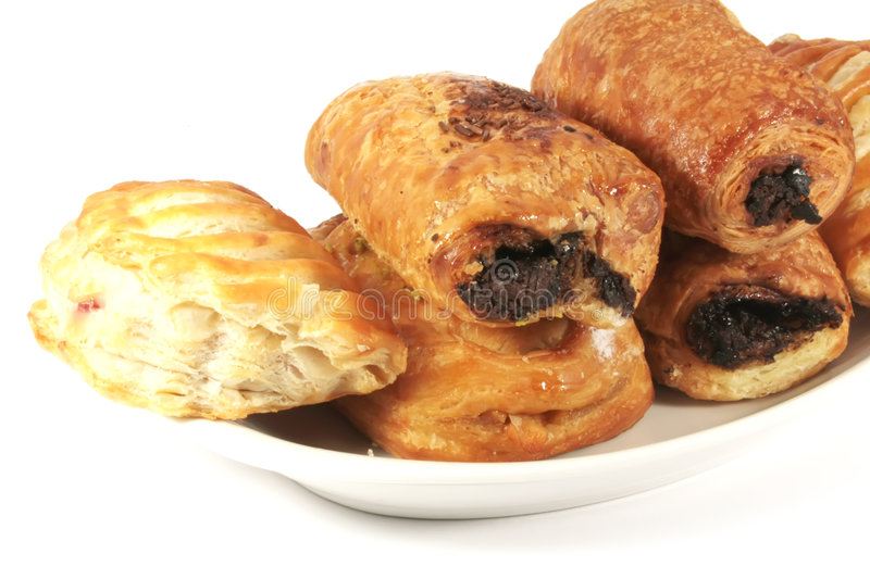 Assorted Danish Pastries royalty free stock images