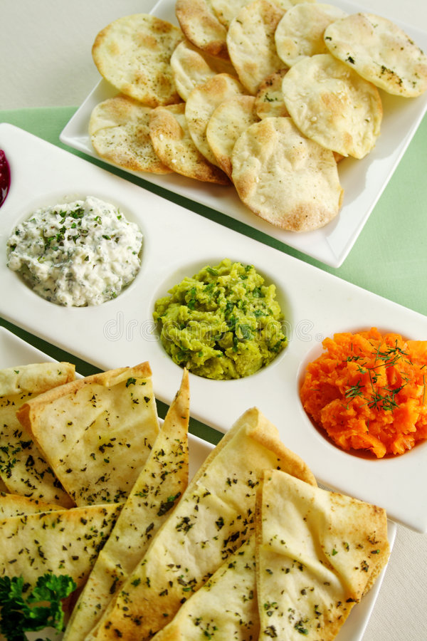 Download Assorted Dips Royalty Free Stock Image - Image: 8862816