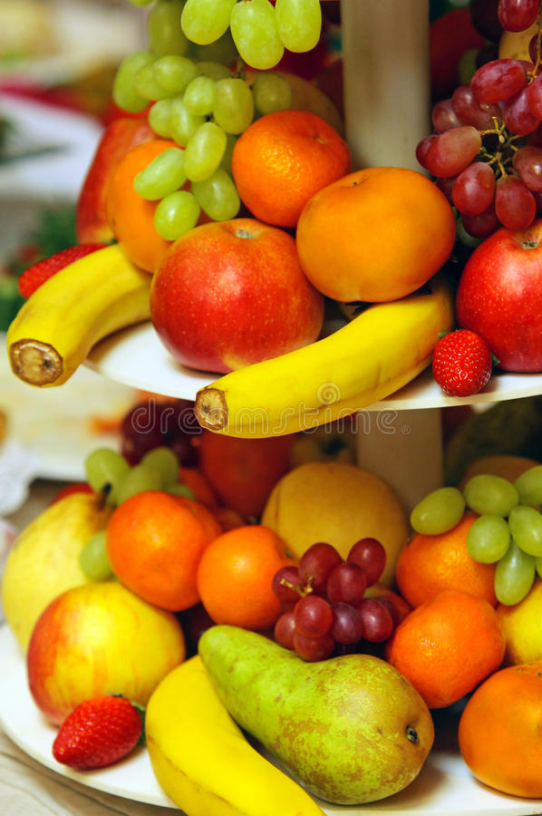 Assorted fresh fruit stock images