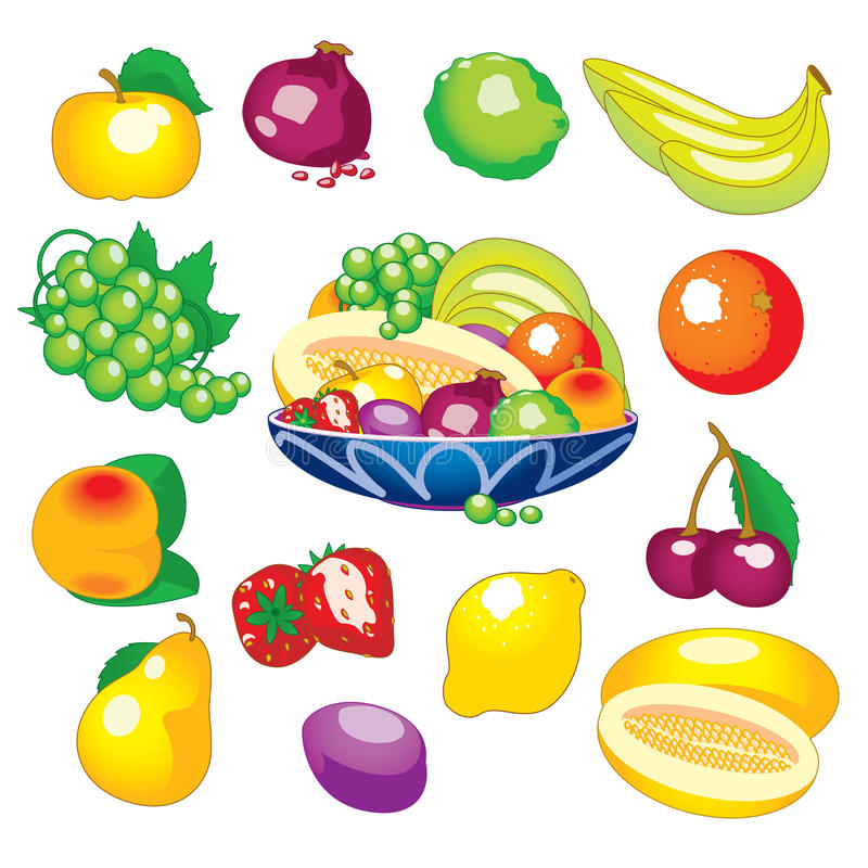 Free Assorted Fruits Royalty Free Stock Images - 14524959