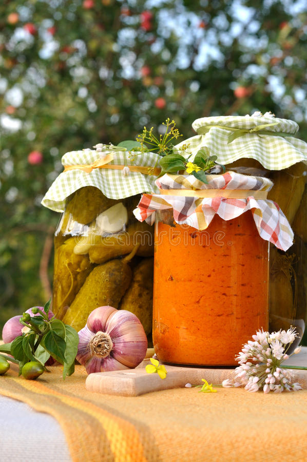 Download Assorted Homemade Preserves Stock Photo - Image: 20778078