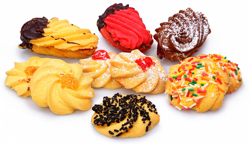 Assorted Italian Biscotti Cookies Royalty Free Stock Photo