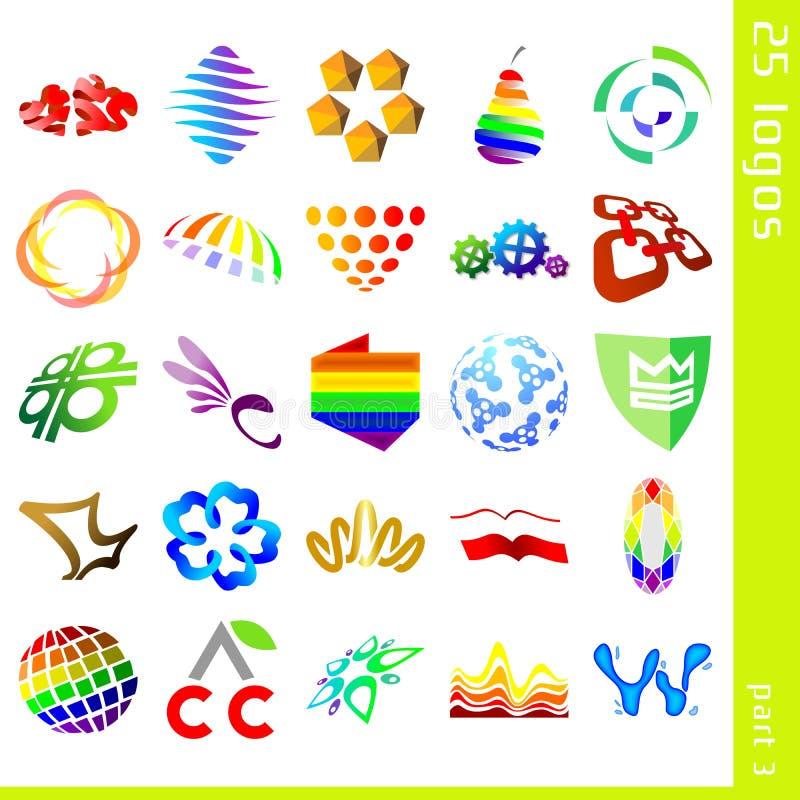 Assorted logos 3 stock photos