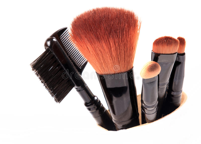 Download Assorted makeup blush stock photo. Image of brush, females - 26311690