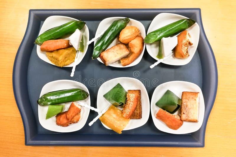 nyonya assorted kueh malaysia kuih served plate tray serving
