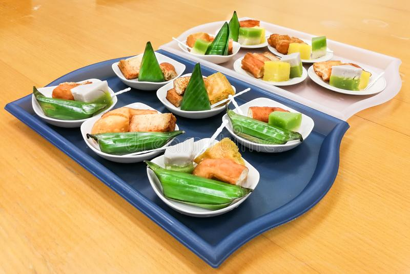 nyonya kueh malaysia kuih assorted served plate tray serving