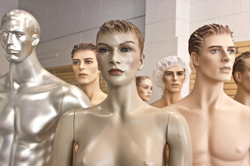 Download Assorted Mannequin Troop Stock Images - Image: 10687814