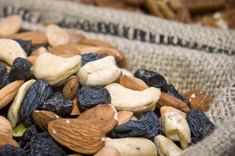 assorted nuts στοκ φωτογραφία