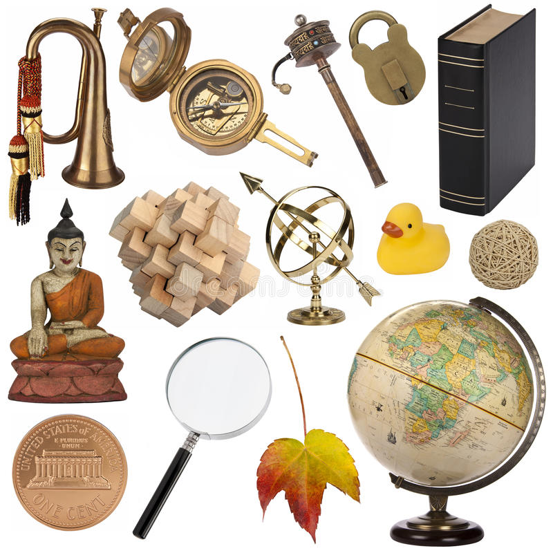 Assorted Objects - Isolated for cutout stock photos