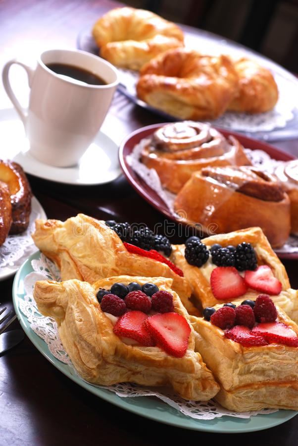 Free Assorted Pastries Royalty Free Stock Photo - 11005295
