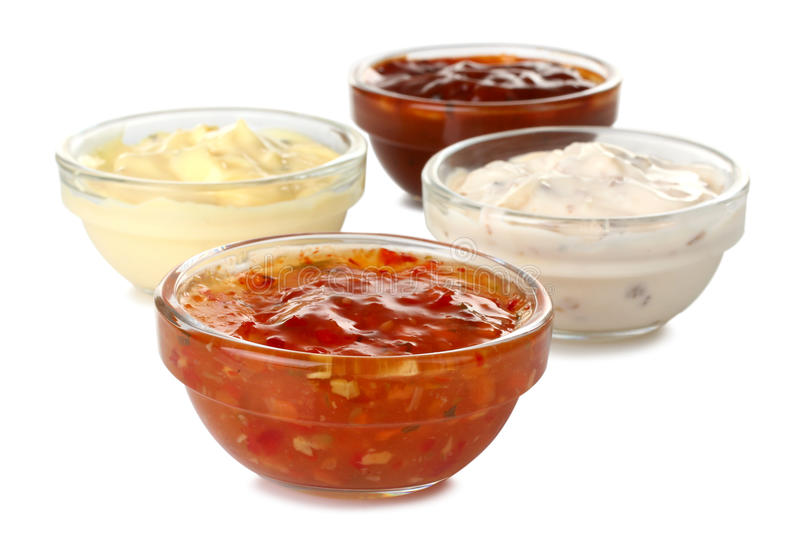Download Assorted sauces stock photo. Image of gourmet, creamy - 66331910