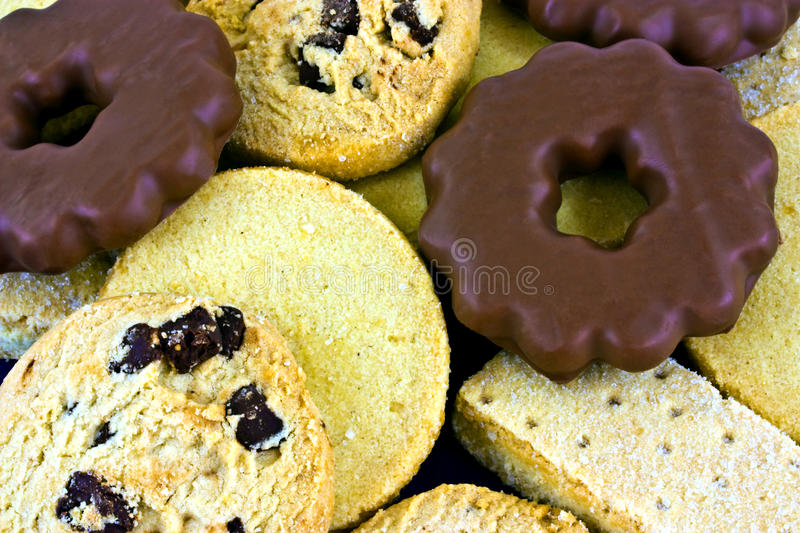 Assorted Shortbread Royalty Free Stock Image