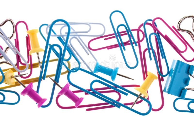 Download Assorted stationery stock photo. Image of clip, abstract - 14684954