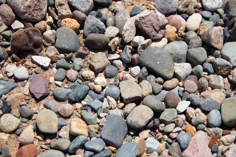 Download Assorted stones stock image. Image of cobblestones, sand - 25309105