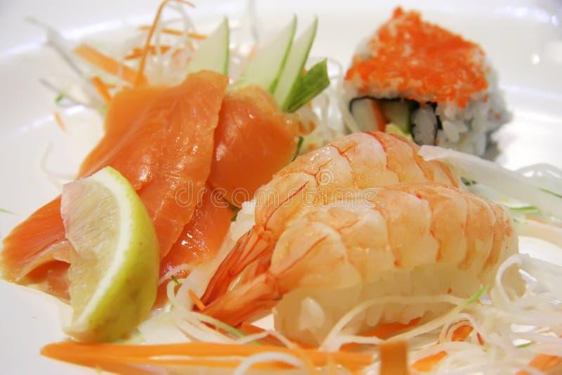 Assorted sushi stock photos