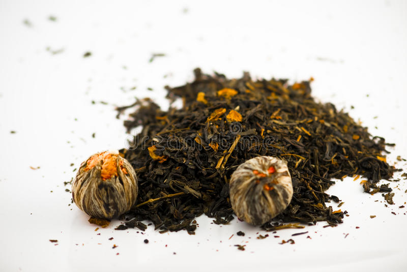 Assorted teas royalty free stock images
