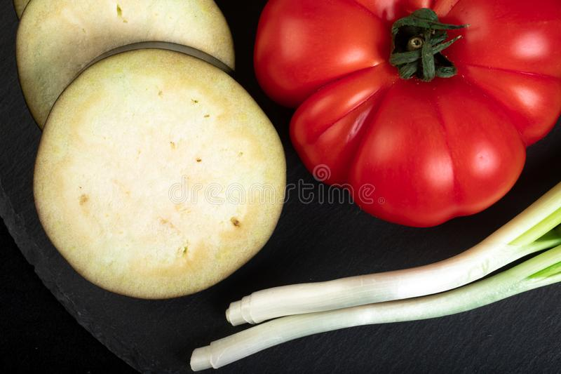 Assorted vegetables stock images