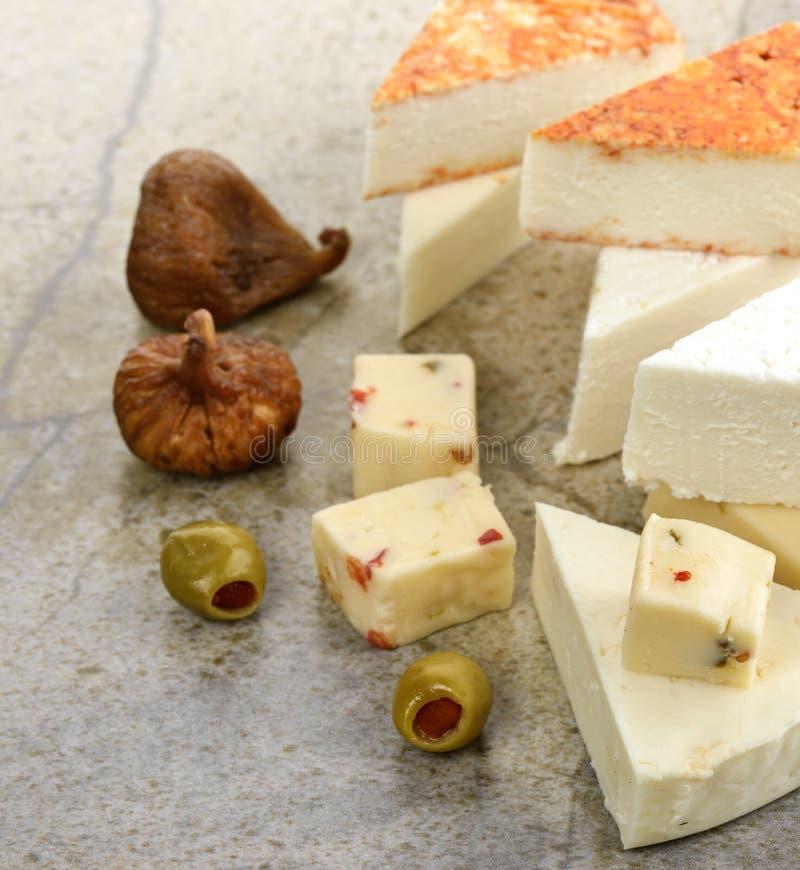 Assortiment de fromage images libres de droits