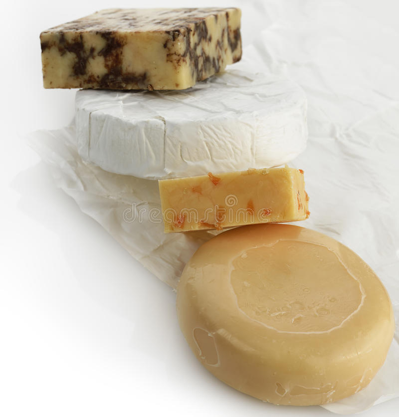 Assortiment de fromage images stock