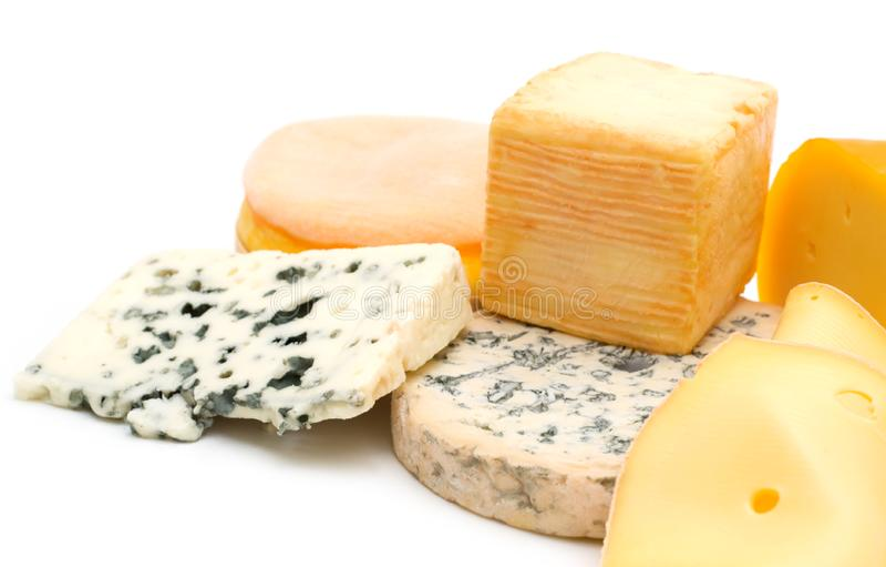 Assortiment de fromage photo stock