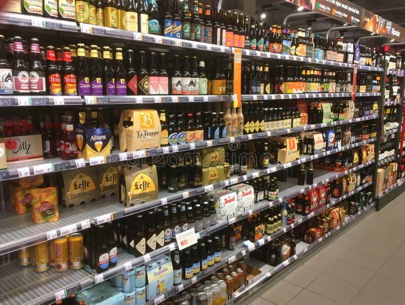 Assortiment des bières spéciales photo libre de droits