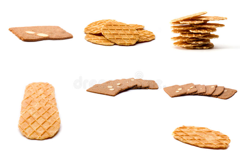 Assortiment des biscuits photos stock