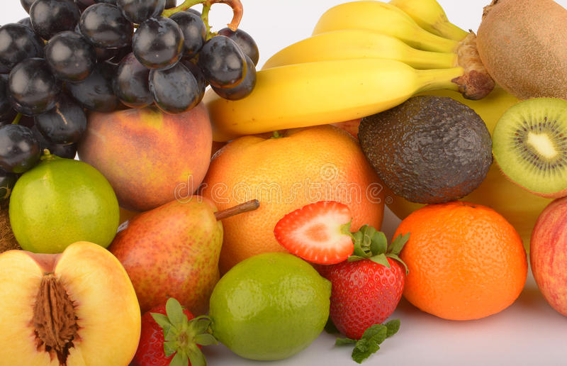 Assortiment des fruits exotiques image libre de droits