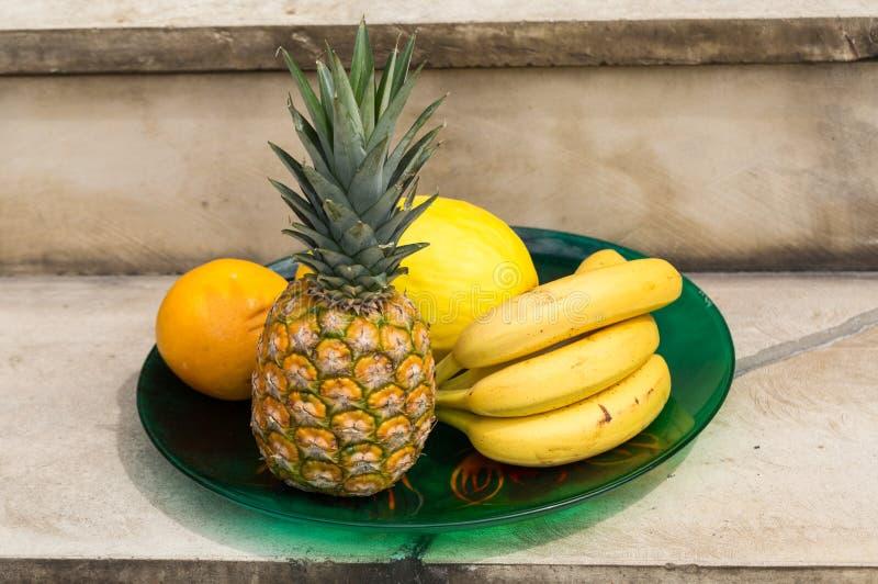 Assortiment des fruits exotiques frais photo stock