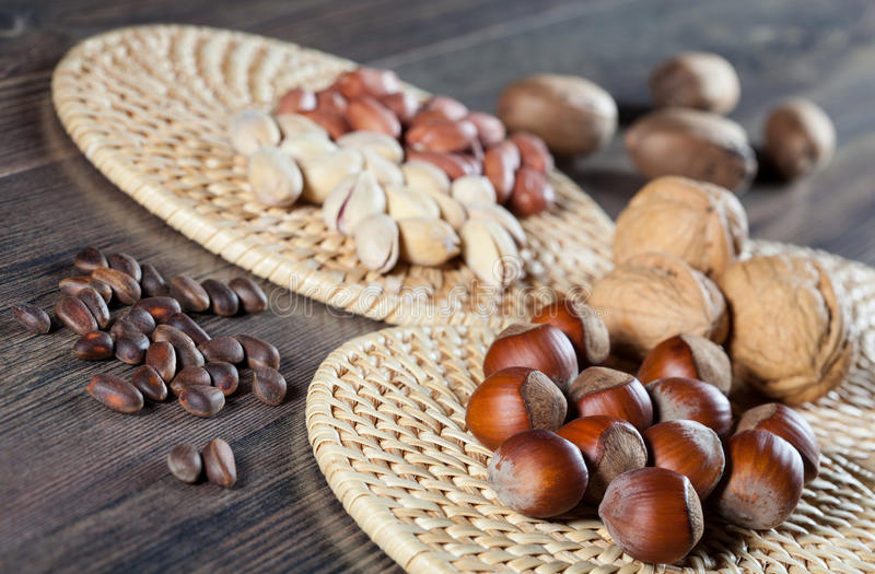 Assortiment Nuts photo stock