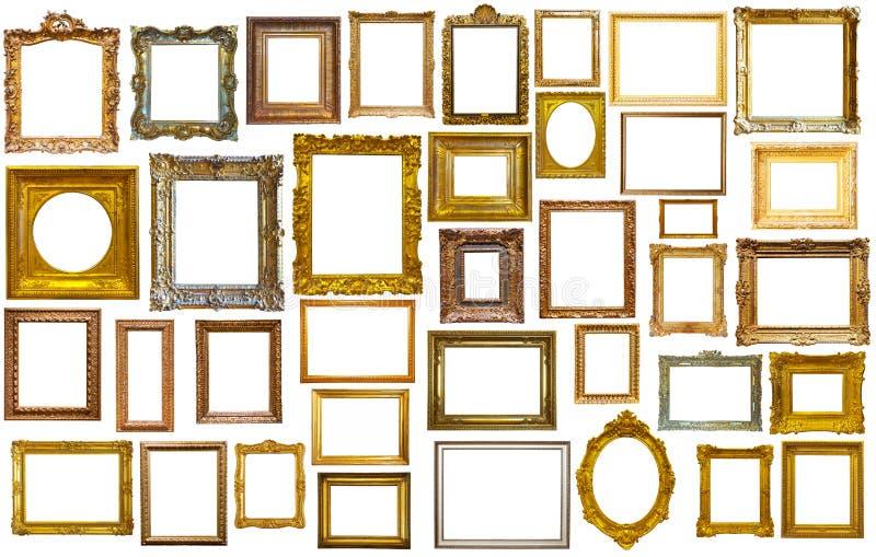 Assortiment van kunstkaders royalty-vrije stock afbeelding