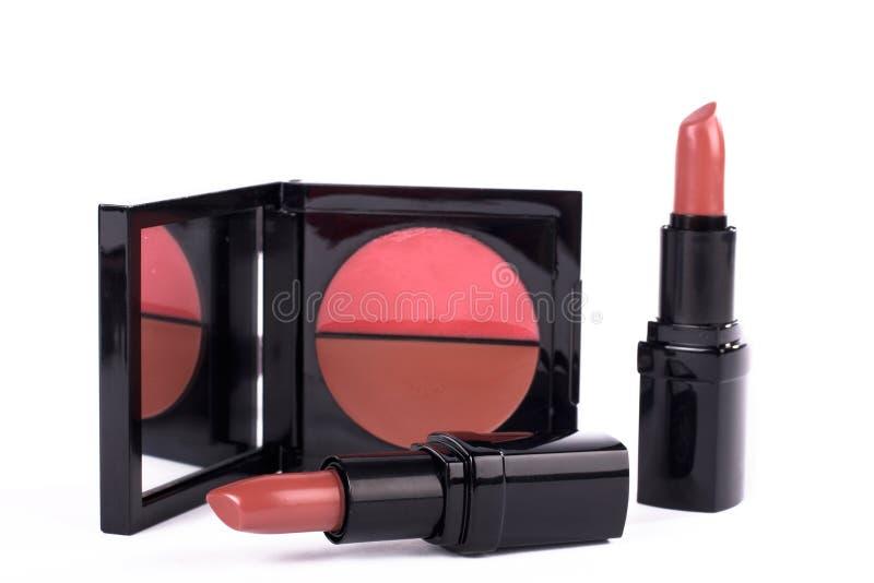 Assortiment van make-up royalty-vrije stock afbeelding