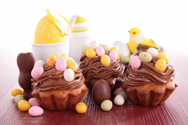 Assortiment van Pasen-dessert royalty-vrije stock afbeelding