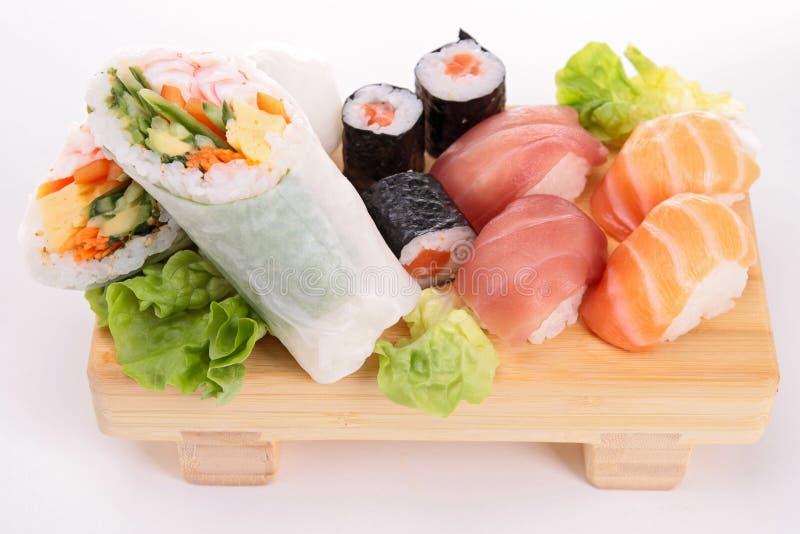 Assortiment van sushi royalty-vrije stock foto