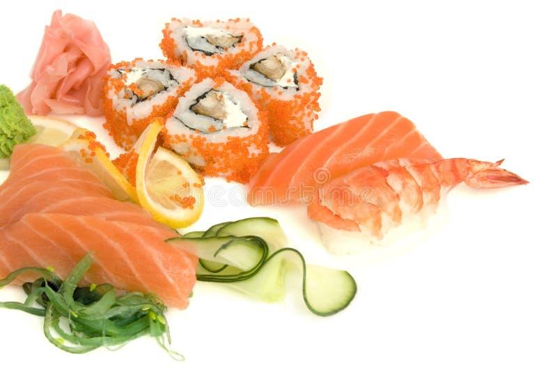 Assortiment van sushi royalty-vrije stock fotografie