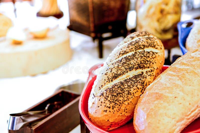 Assortiment van vers gebakje stock fotografie
