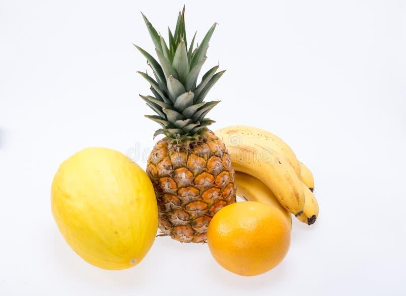 Assortiment van verse exotische vruchten royalty-vrije stock afbeelding