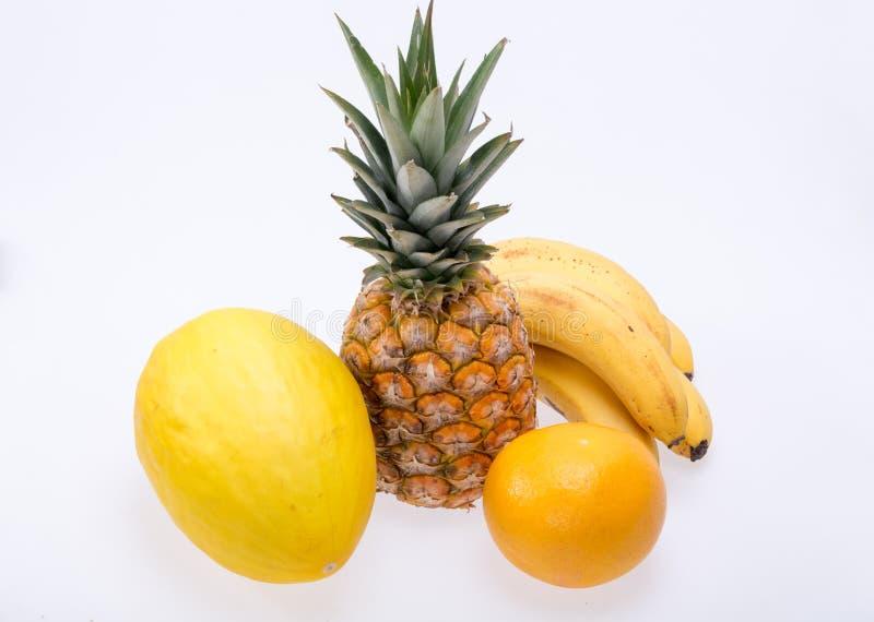 Assortiment van verse exotische vruchten royalty-vrije stock foto