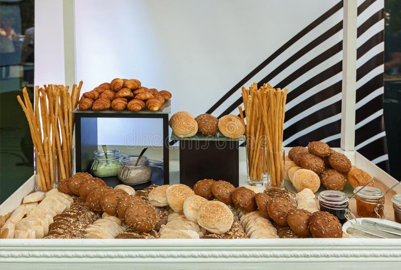 Assortimento del pane fotografie stock libere da diritti