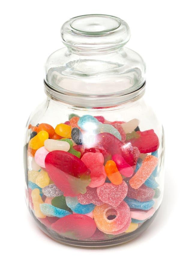 Assortimento della caramella della gelatina immagine stock